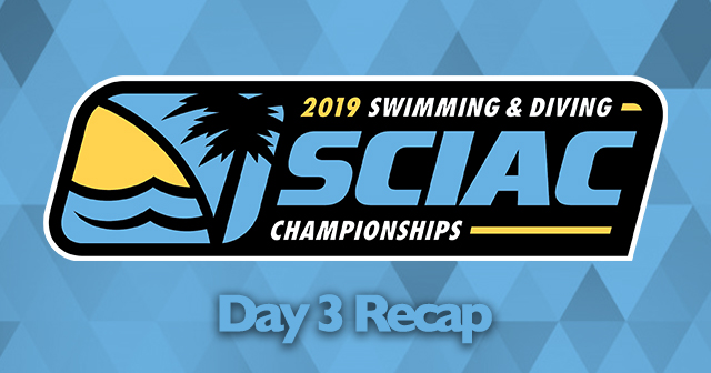 SCIAC Men's and Women's Swimming Championships - Day 3 Recap