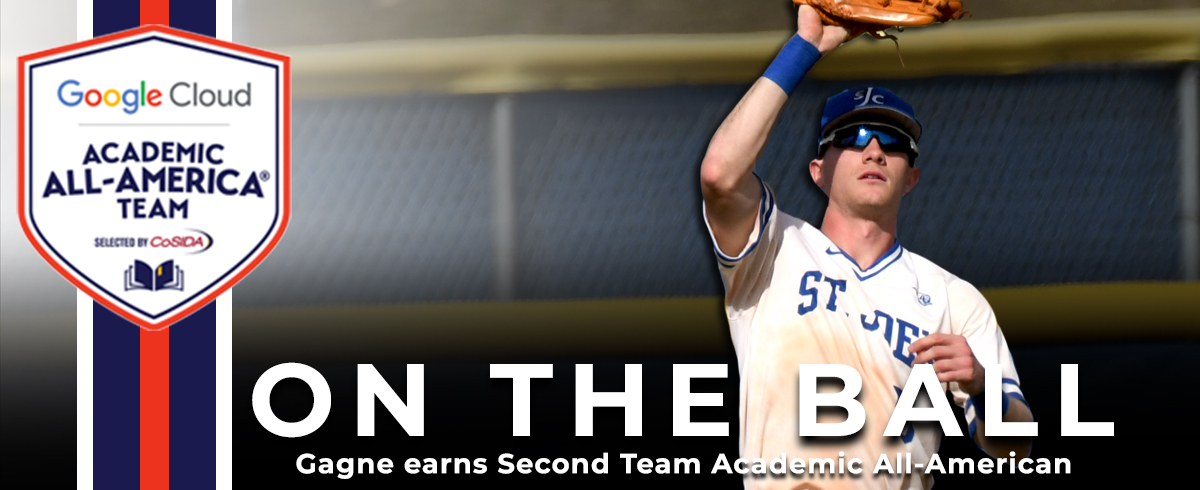 Gagne Named Google Cloud Second Team Academic All-America®