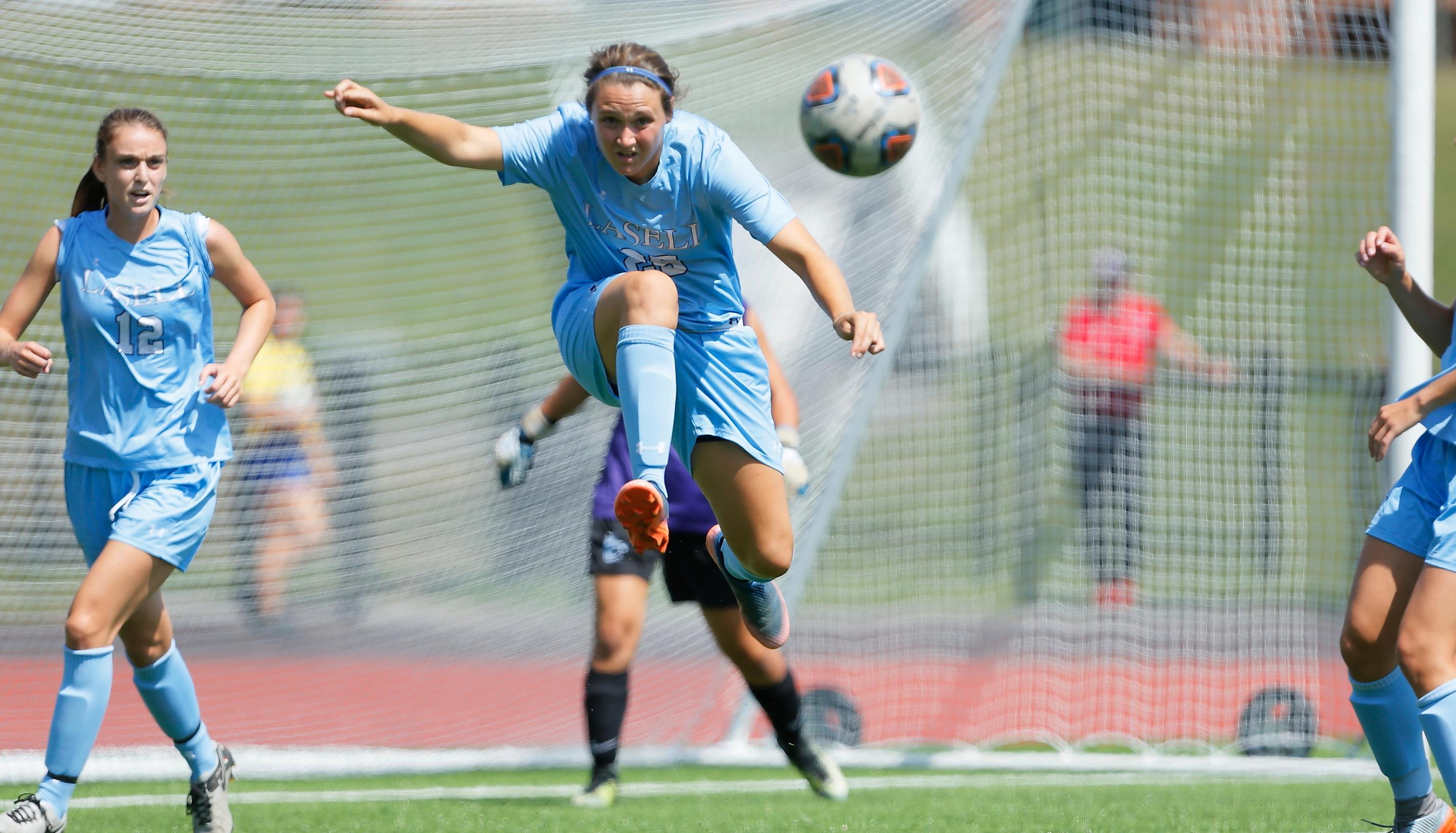 Lasell Women's Soccer blanked by Brandeis