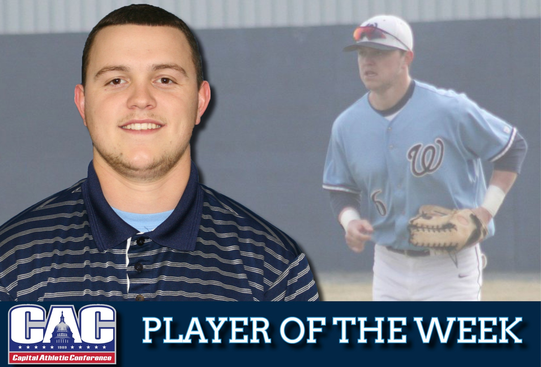 Mears named CAC Baseball Player of the Week