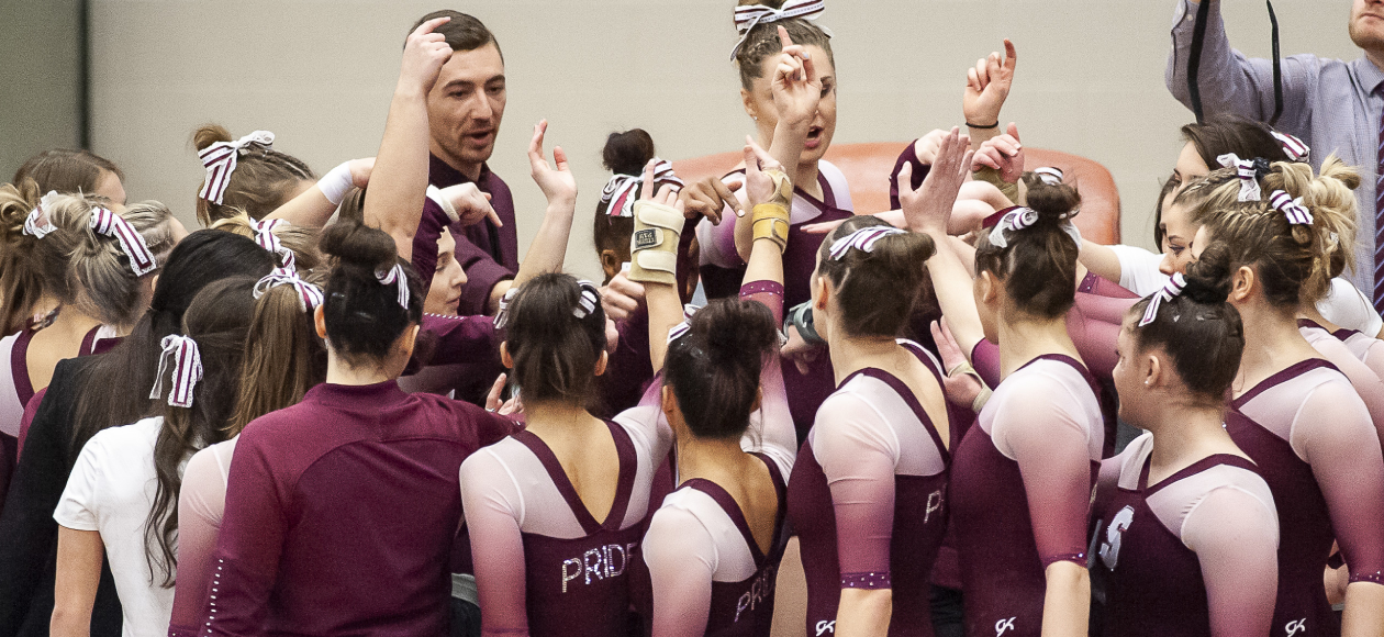 Women's Gymnastics Finishes Fourth Overall at 2019 NCGA East Regional Championship With 188.100