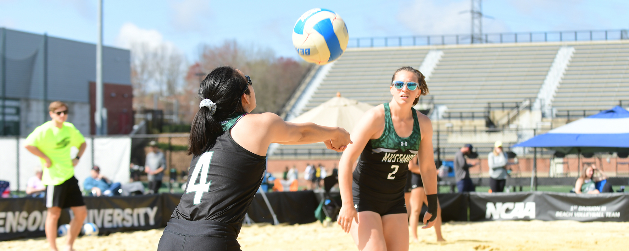 Mustangs Open AVCA Small College Championship 1-1