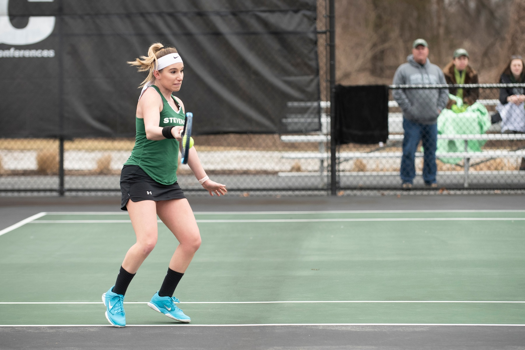 Women's Tennis Competes on Day One of MAC Individual Championships