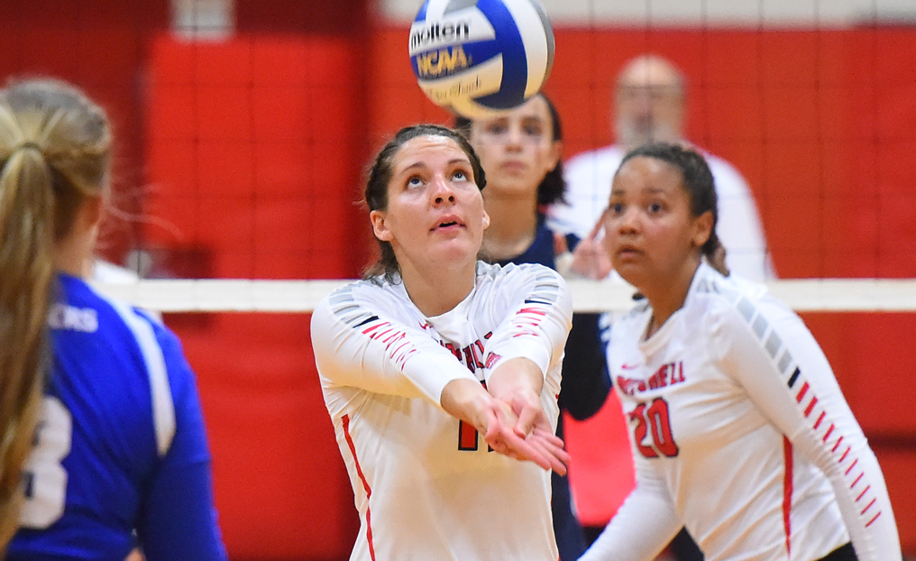 No. 6 Volleyball Eliminated by No. 3 Becker