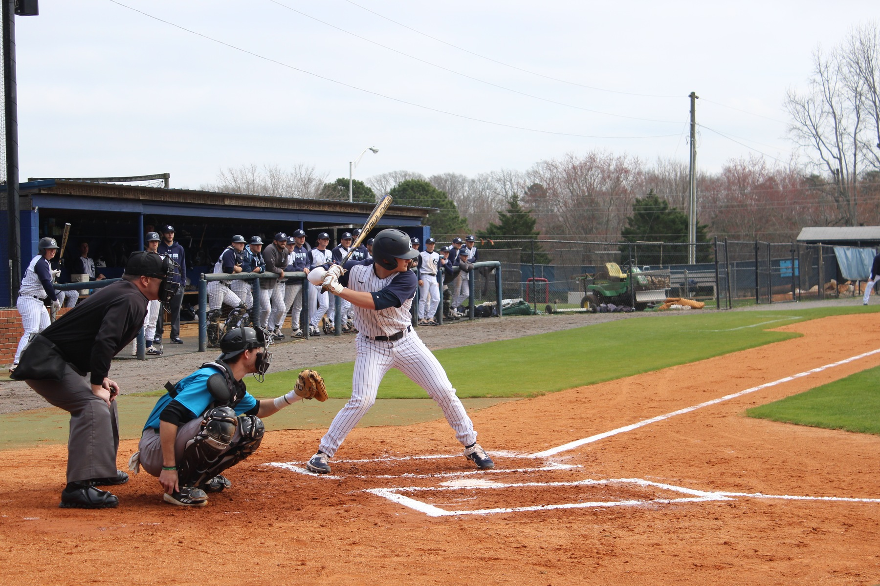 Baseball Sweeps Jackson State Saturday