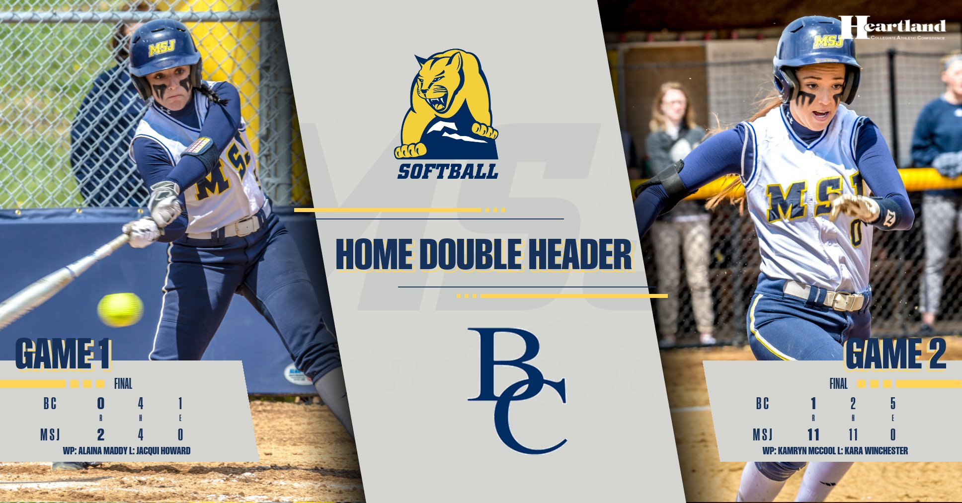 Lions Sweep Berea in First Home Double Header of the Season