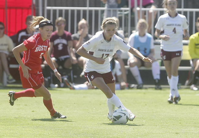 Dani Weatherholt of the Bronco Women's Soccer Team's Succesful Start To a Great Season