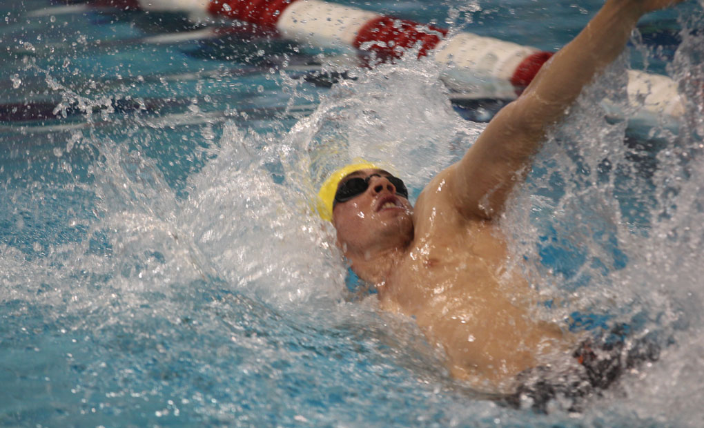 Emory Men's Swimming and Diving Topples Birmingham-Southern, 163-121