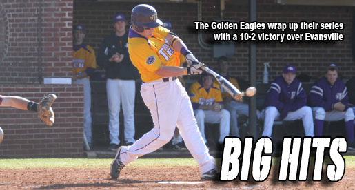 Golden Eagle bats come alive in series finale with Evansville