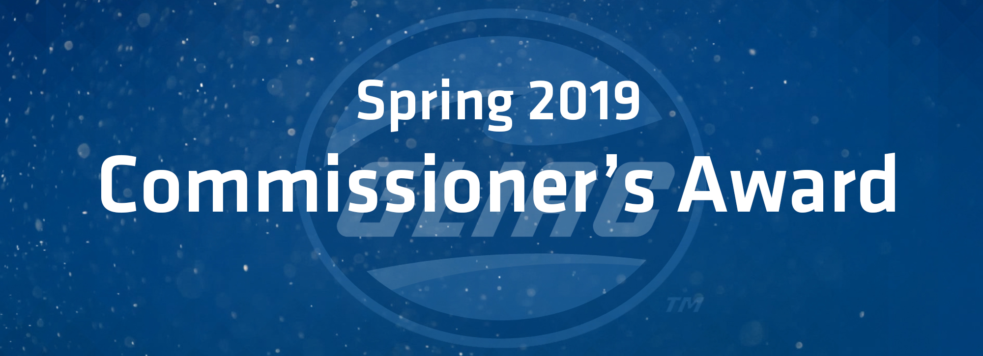GLIAC recognizes Spring 2019 Commissioner's Award winners