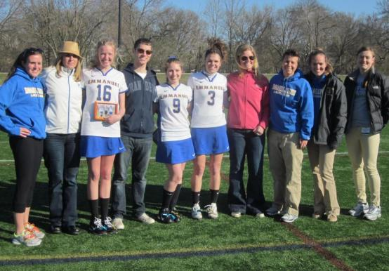 EMMANUEL CELEBRATES SENIOR DAY WITH WIN OVER ANNA MARIA