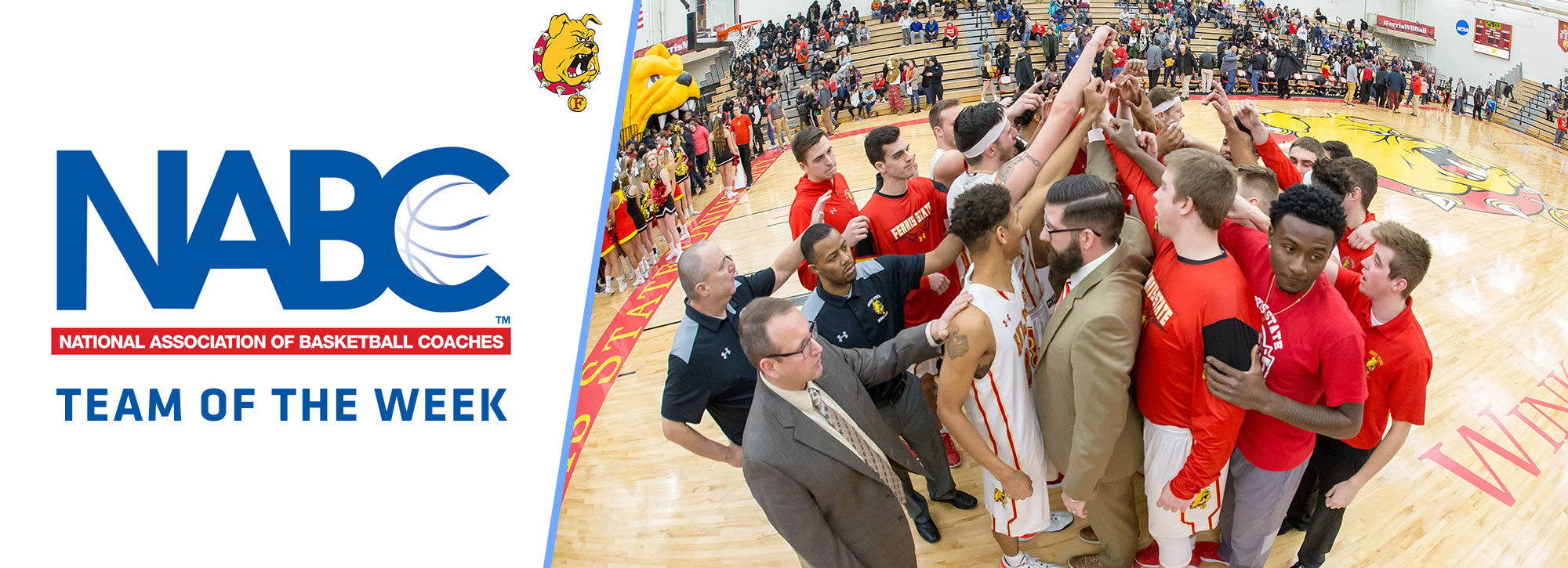No. 3 Ferris State Tabbed NABC National D2 Team of the Week