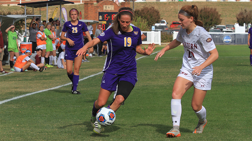 Tech soccer concludes 2016 season with shootout loss to EKU in OVC Tournament semifinals