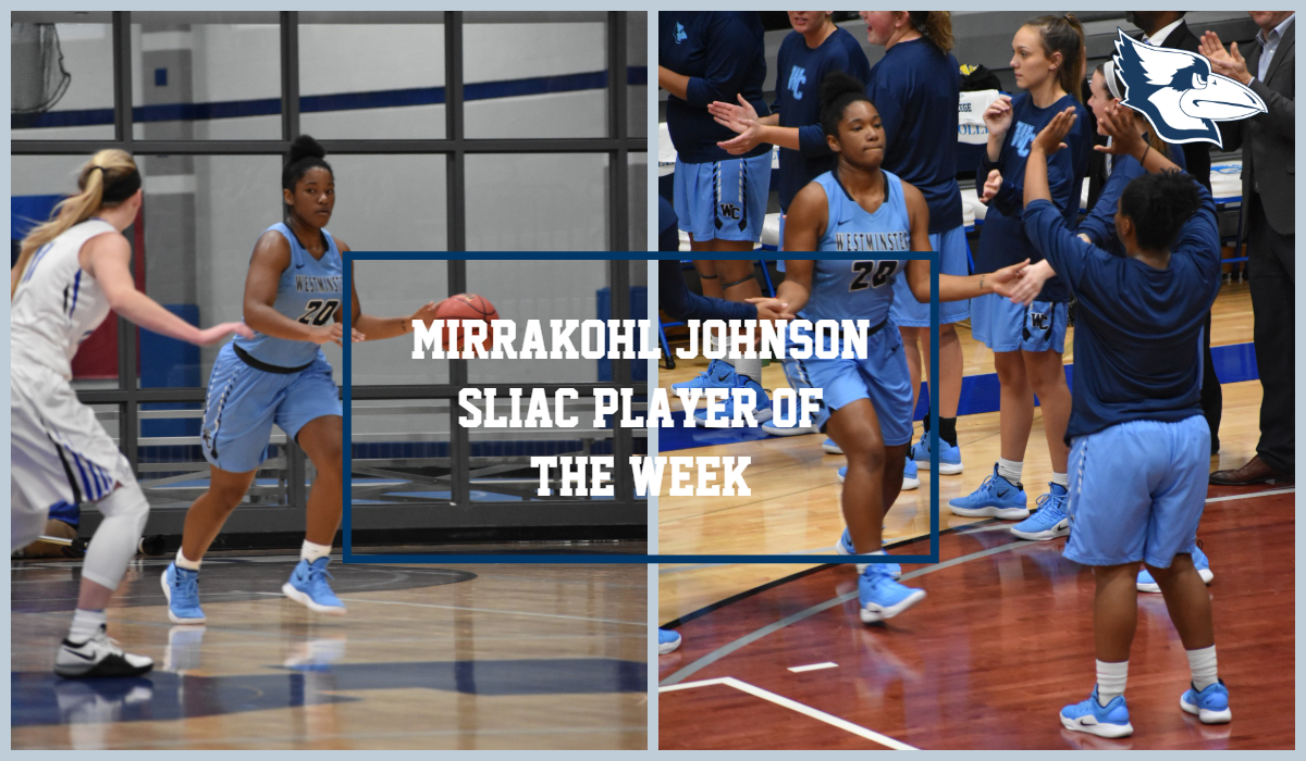 Johnson Wins Second Straight SLIAC Player of the Week