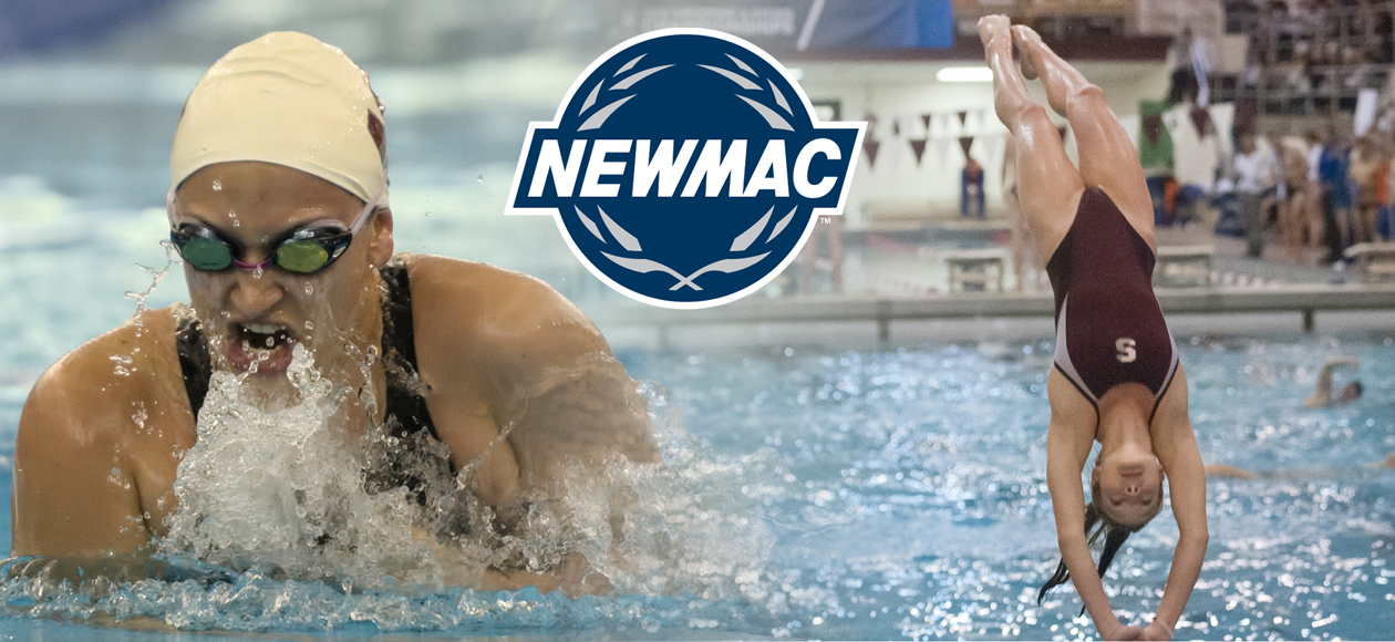 Medeiros and Skaza Earn NEWMAC Women's Swimming and Diving Weekly Honors