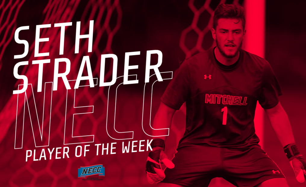 Soccer's Strader Tabbed NECC Player of the Week