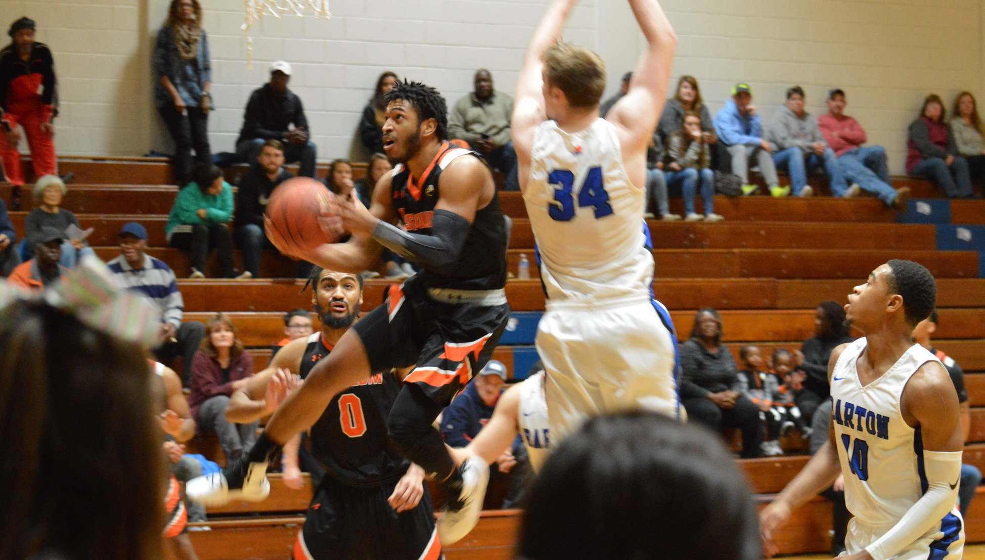 Tariq Jenkins scored 17 points and converted a three-point play late in the game in Tusculum's 91-87 win at Barton