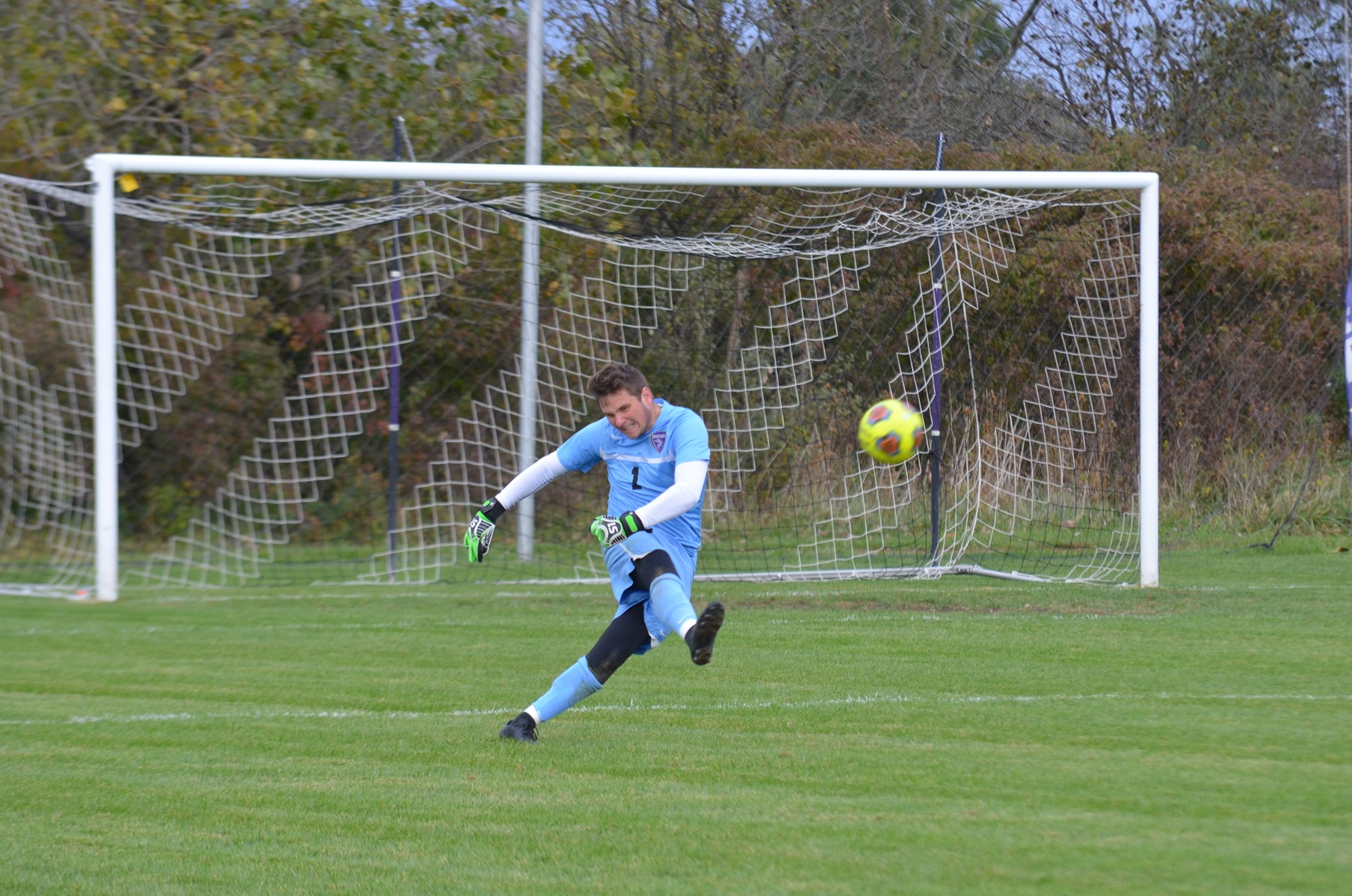 Scoreless Draw See Men's Soccer Split Points with Anderson