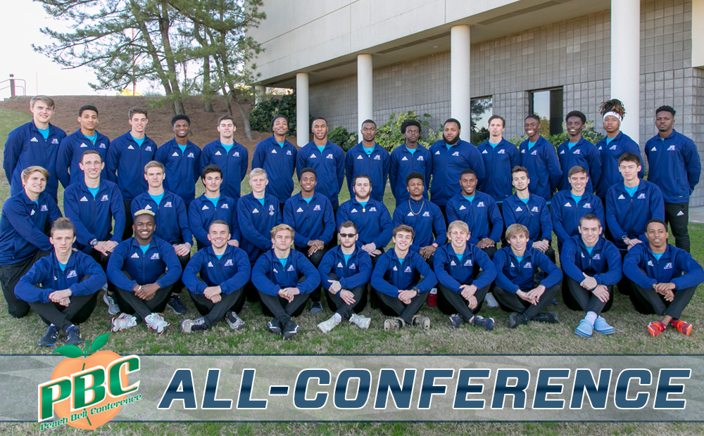 Men's Track Picks Up Six All-Conference Honors At PBC Championships