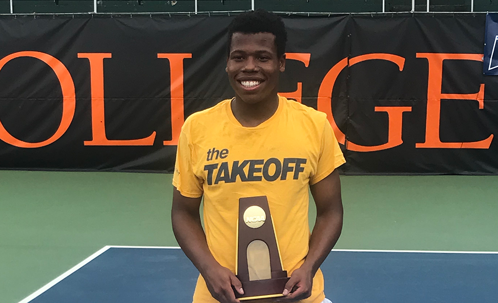 NATIONAL CHAMP!! -- Jemison Wins NCAA D-III Men's Tennis Singles Championships