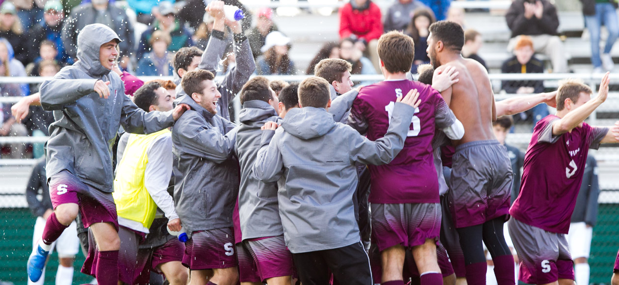 NCAA BOUND - Men's Soccer to Play Ramapo in NCAA Division III Championship Tournament Opening Round
