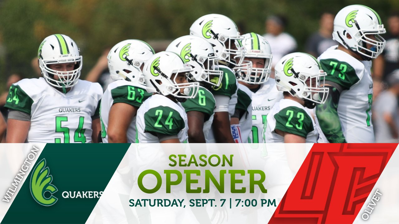 Football Opens Season With Night Game Against Olivet