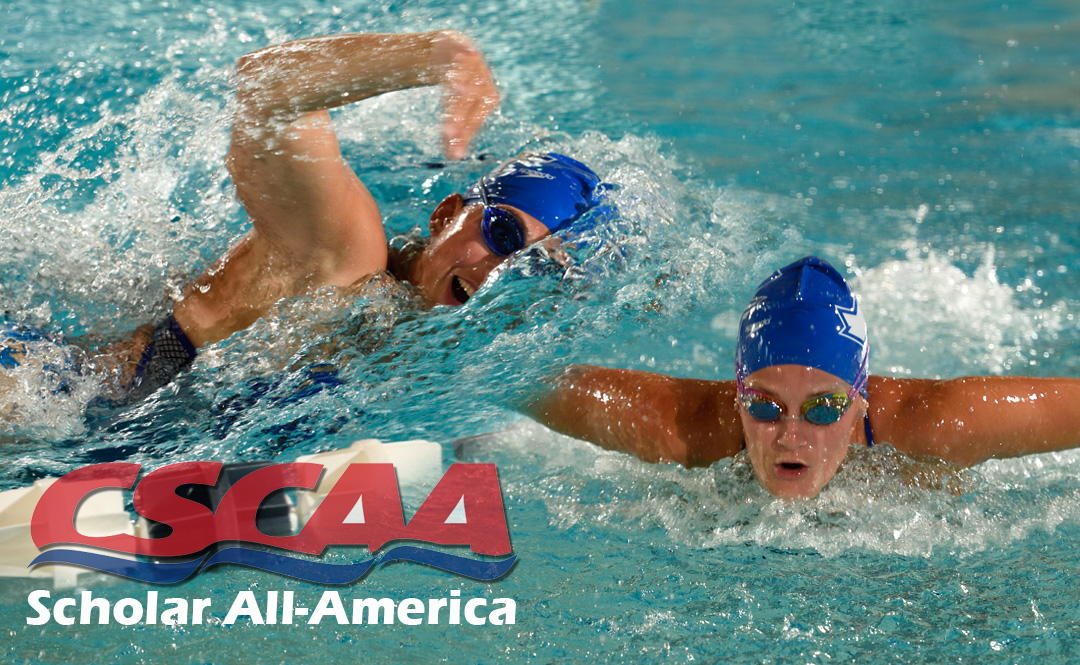 Swimming Receives Scholar All-America Honor for 17th Straight Semester