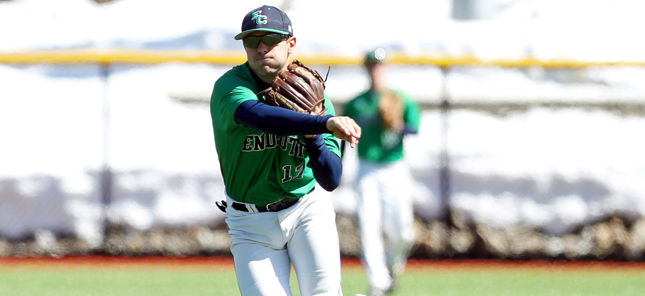 Pitching and Defense Keeps Endicott Alive in CCC Tournament