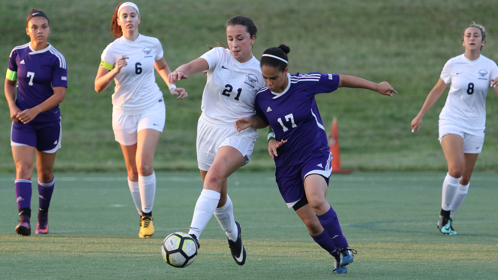 Women's Soccer Falters to CCNY in Home Opener