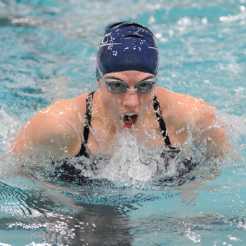 Swimming and Diving Caps Off Outstanding Weekend With Dominant Win at Simmons