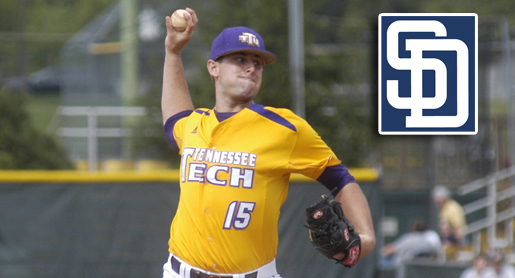 Shepherd drafted by the San Diego Padres