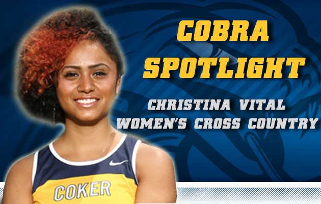 Cobra Spotlight- Christina Vital, Women's Cross Country