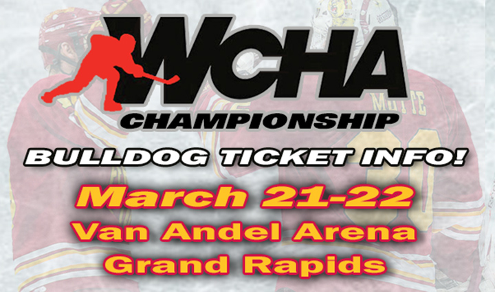 Ticket Information For WCHA Final Five Championship At Van Andel Arena