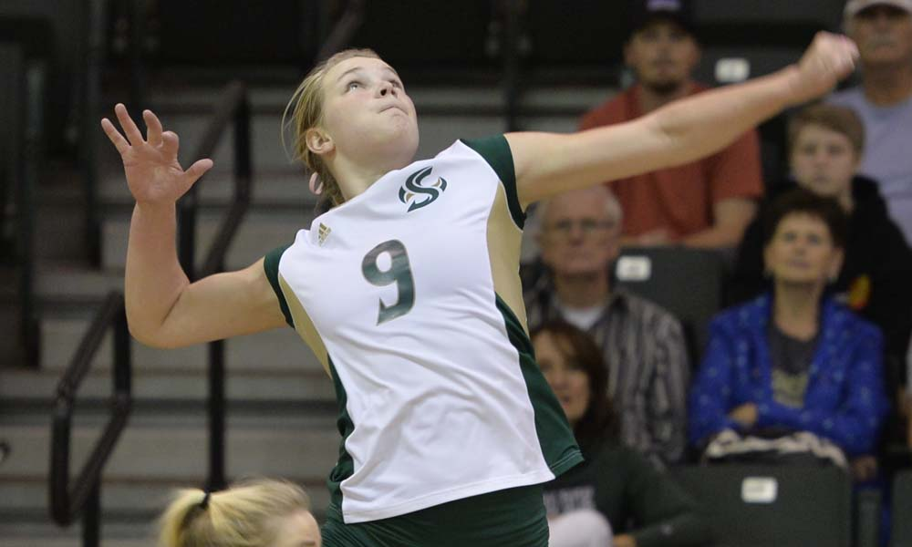 VOLLEYBALL BEATS IDAHO STATE, LONG BIG SKY HOME WINNING STREAK REMAINS INTACT