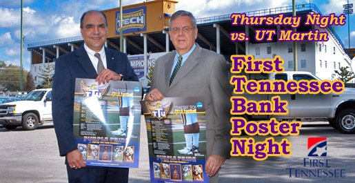 First Tennessee Bank sponsoring annual Football Poster Night Thursday