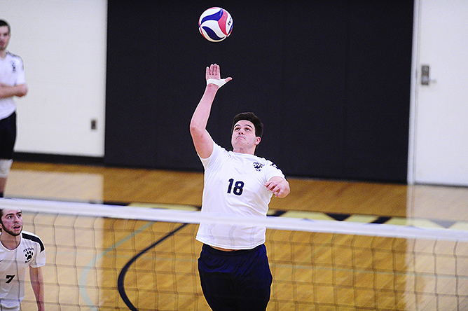 Men's Volleyball Drops a Pair of Matches