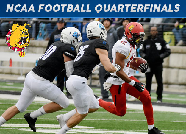 Ferris State Earns National Semifinal Berth; Defeats Rival Grand Valley State