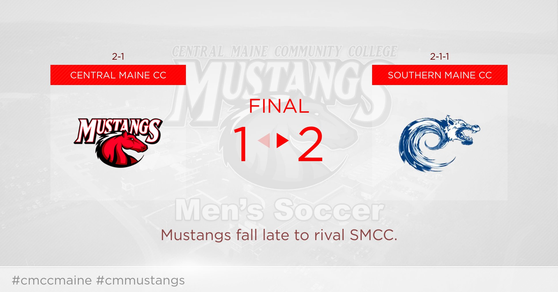 Mustangs fall to SMCC