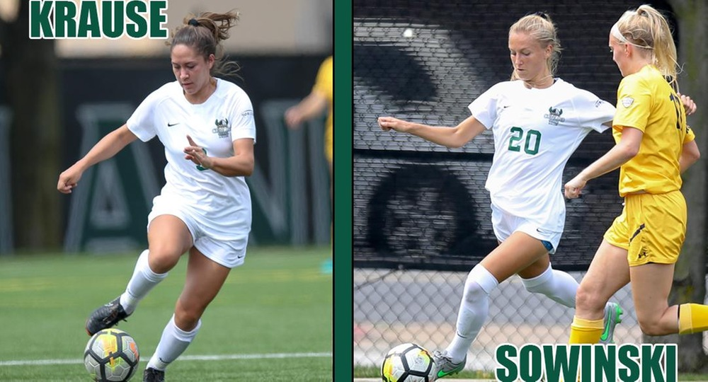 Krause, Sowinski Named All-Ohio