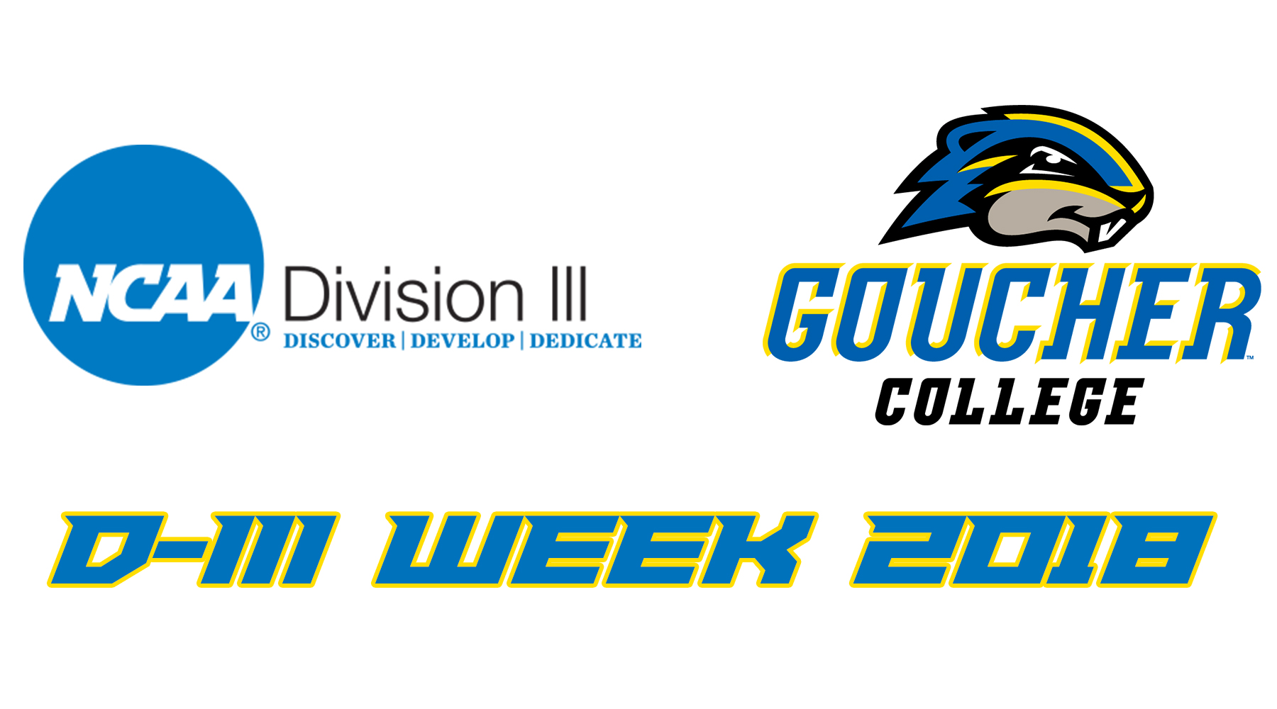Department of Athletics Set to Celebrate NCAA Division III Week