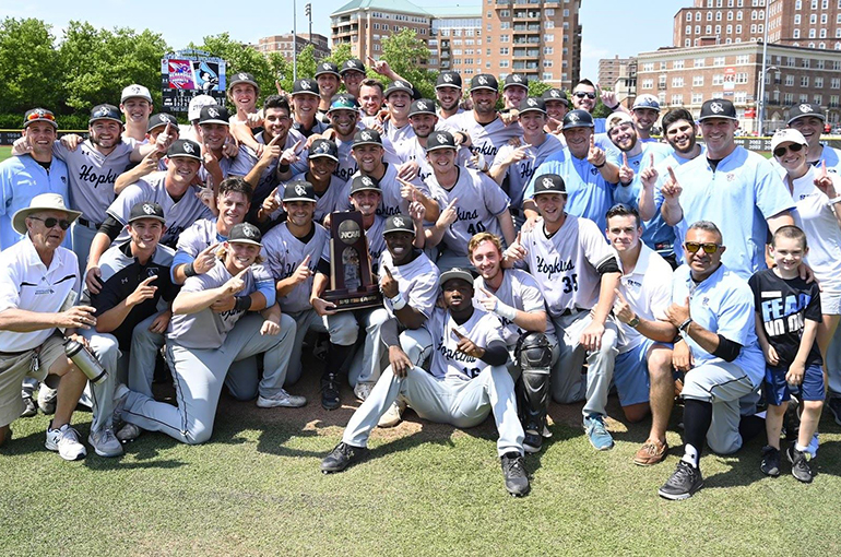 Johns Hopkins Dispatches Shenandoah, Heads to College World Series