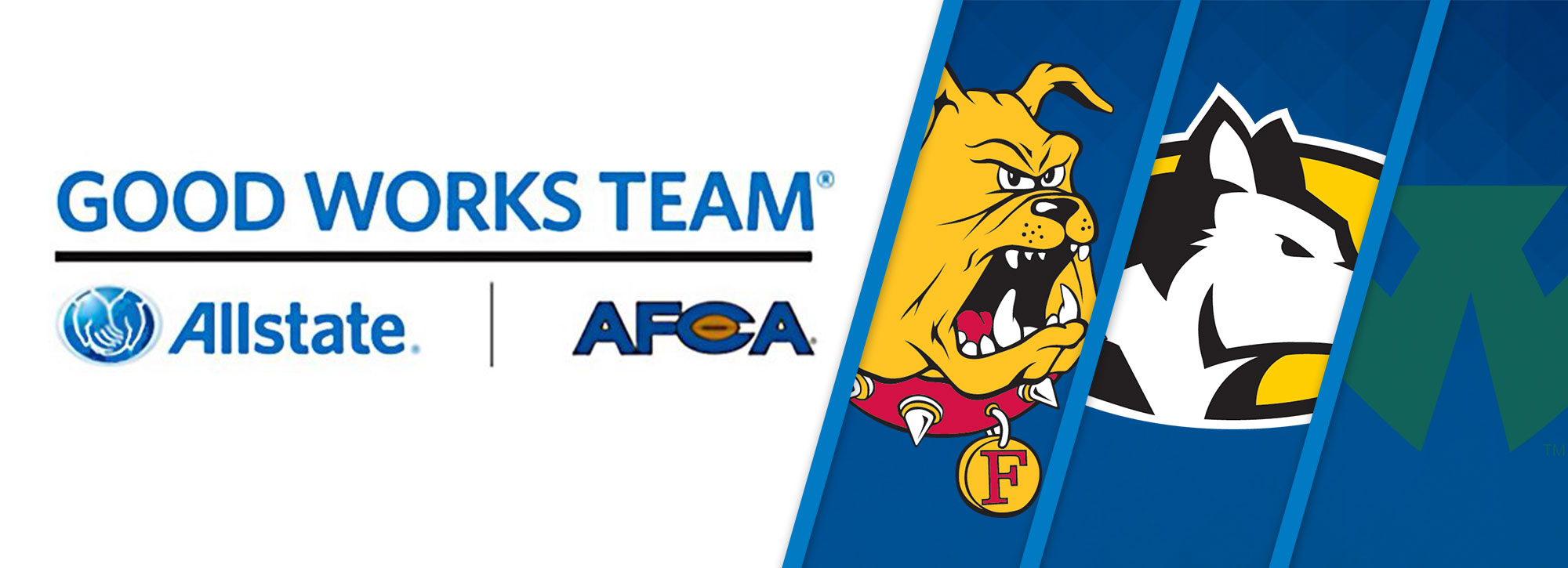 Three GLIAC Student-Athletes Garner AFCA Good Works Team Nominations