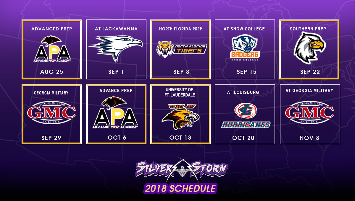 ASA Miami Releases 2018 Football Schedule