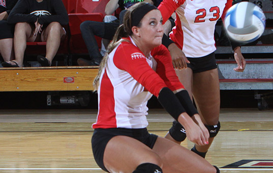 Volleyball Shines in Home Opener, Surpasses 2011 Win Total