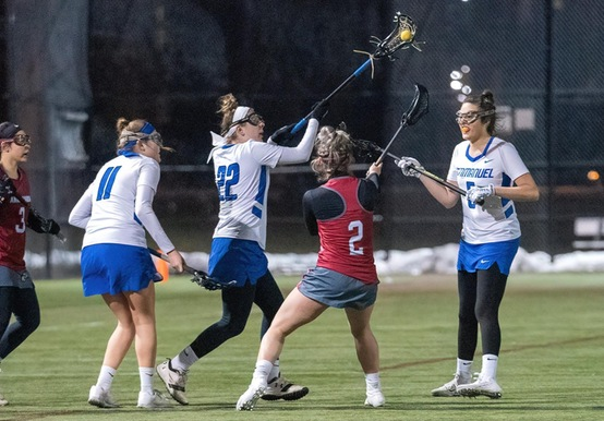 STRONG SECOND HALF POWERS CURRY PAST WOMEN'S LACROSSE, 15-12