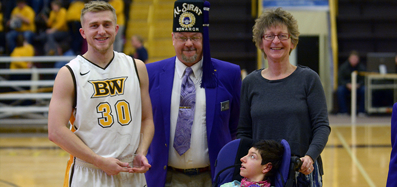 Cam Kuhn Named BW Al Sirat Grotto Player of the Game
