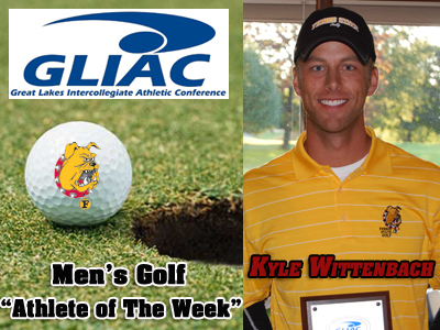 Kyle Wittenbach Earns Weekly GLIAC Men's Golf  Plaudits
