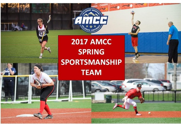 Spring Sportsmanship Teams Announced by the AMCC