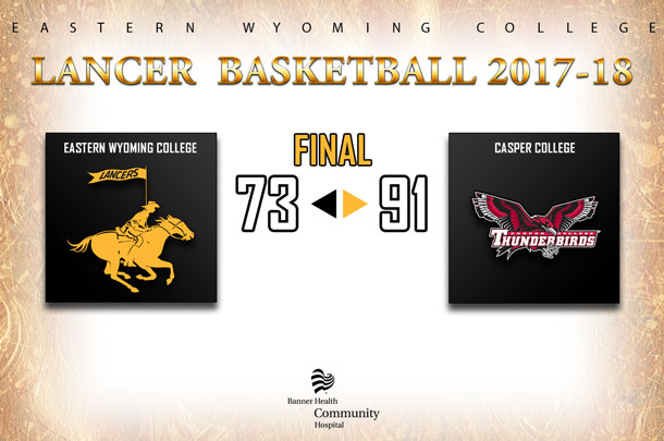 Eastern Wyoming College Lady Lancer Basketball Team vs. Casper College