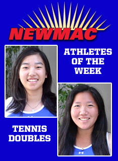 Wellesley's Lee/Chen Named NEWMAC Doubles Team of the Week